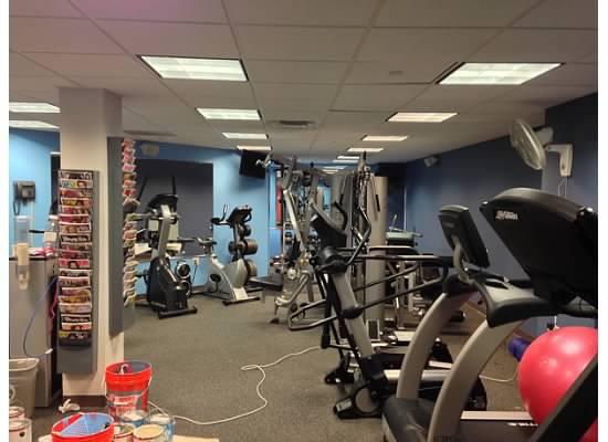 Gym painting contractors painting fitness centers r s p