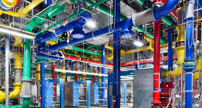 Color Coded Water Pipes 40