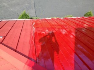 Pizza Hut Roof Painting / Retail Store Painting