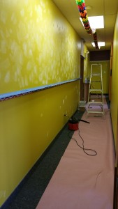 Commercial Painting Company / Retail Store Painting / daycare painting