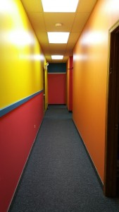 commercial contractors / daycare painting /