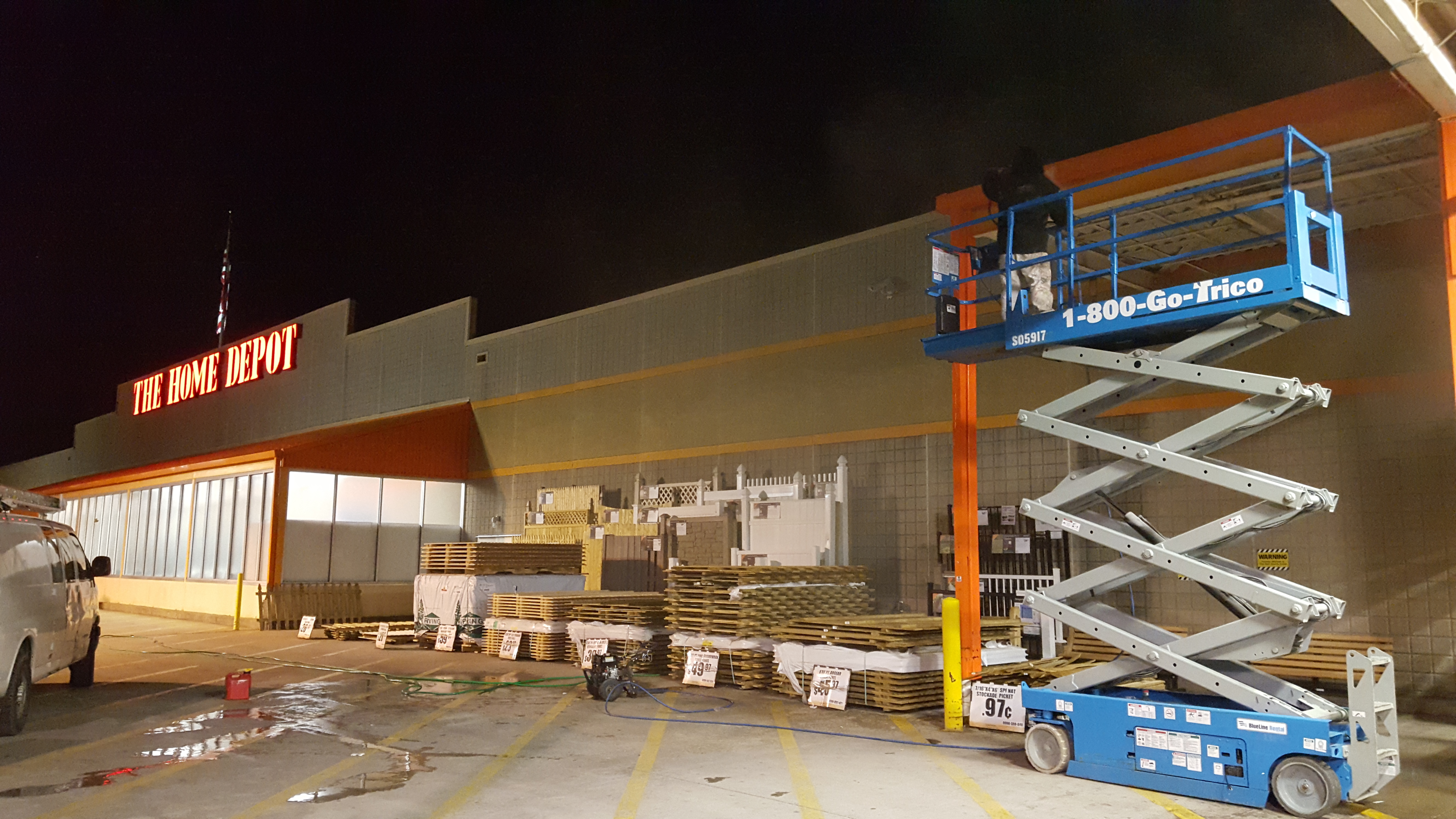 Home depot mantua nj retail store painting - Exterior water service line coverage ...