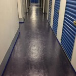 epoxy floor painting / armor seal 1000