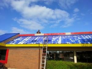 Metal Roof Painting