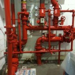 Sprinkler pipe Painting contractors