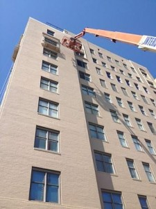 High rise building painting / Retail Store Painting LLC.
