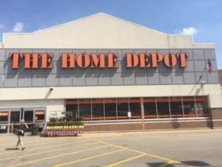 Home Depot Painting - Erie PA. • Retail Store Painting
