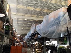 Metal deck ceiling Painting Contractors