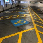 Parking Garage Striping